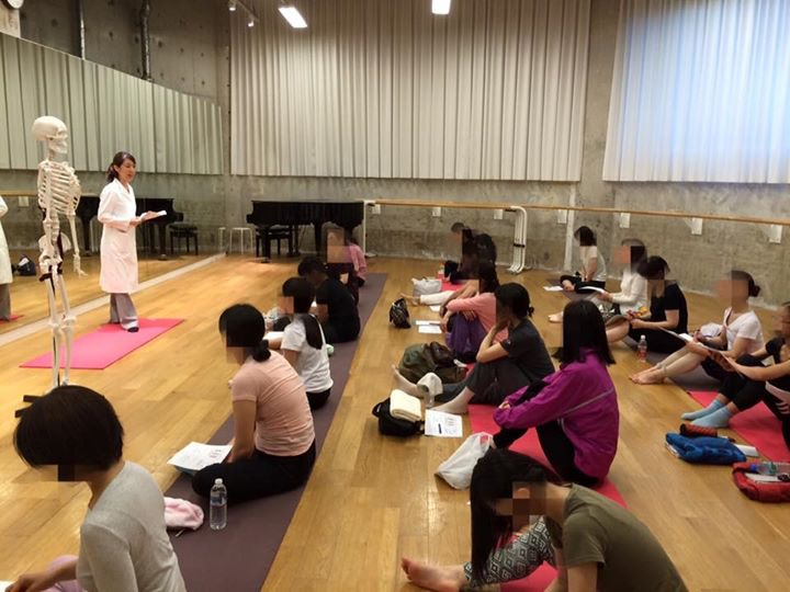 現役医師による「バレエダンサーのための解剖学・コンディショニング講座1