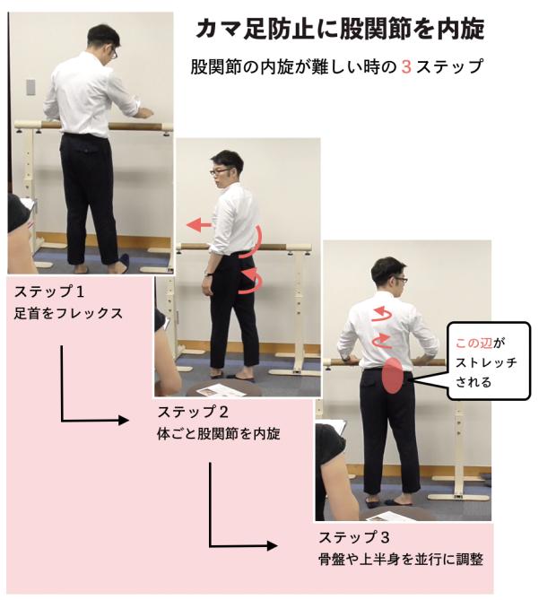 バレエの5番でカマ足になるのを防ぐ方法。しかも簡単なやり方で。