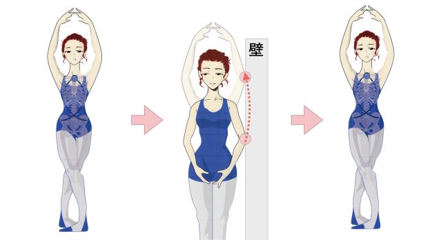肘を張るシンプルな方法